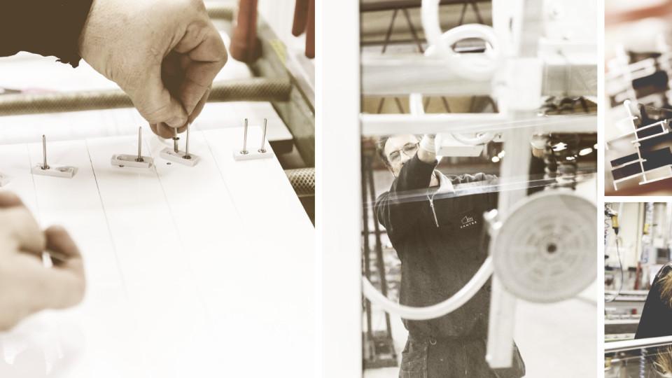 Ruotsin Halmstadissa valmistetut lasiterassit