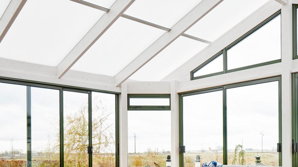 Valitse lasiterassille oikea katto